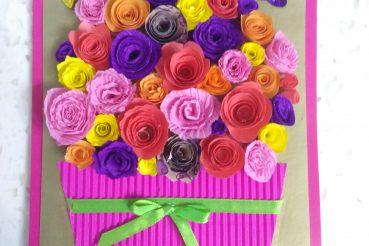 Открытки на 8 марта цветы