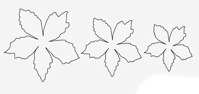Шаблоны цветов к весенним поделкам