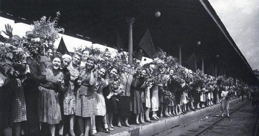 Фотографии вернувшихся с фронта в 1945 году
